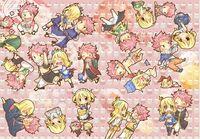 Fairy tail plein de nalu by fairyinu chan-d5y9n7h
