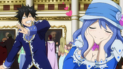 Gray Freaked Out by Juvia's New Version