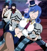Edolas Juvia Frustrated Seeing Two Grays