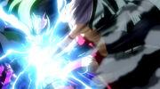 Mirajane using Evil Spark on Freed