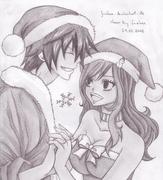 Gray x juvia christmas by juviaaa-d5oshfh