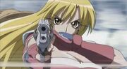 Ayame and guns