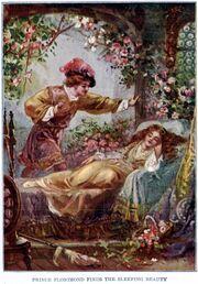 Prince Florimund finds the Sleeping Beauty - Project Gutenberg etext 19993