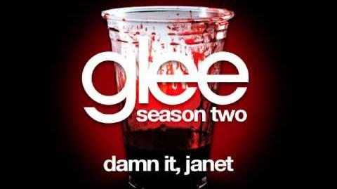 Damn It, Janet - Glee Cast