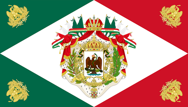 File:Flag of the mexican empire by ieph-d5s8hvv.png
