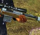 Scoped Magnum Rimfire Rifle
