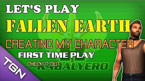 Let's Play Fallen Earth - Creating My Character