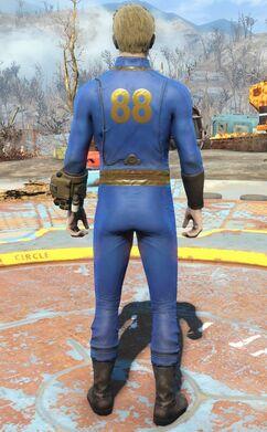 Fo4VW vault 88 jumpsuit male