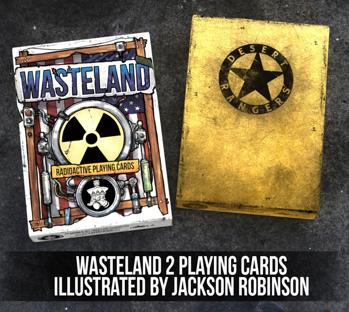Wasteland Playing Cards