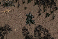 Fo2 crashed vertibird robot