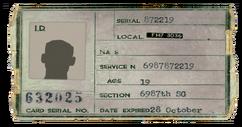 General Atomics ID card