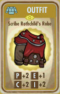 FoS Scribe Rothchild's Robe Card