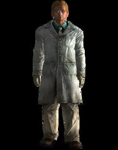 Lesko's lab coat