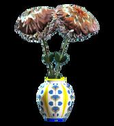 New floral barrel vase