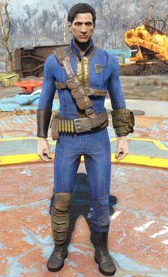 Wastelander's armor