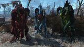 FO4 Chameleon Deathclaw Line-up
