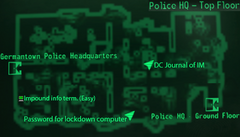 Germantown PHQ top floor map