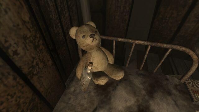 File:FO3 Sniper Shack drunk teddy.jpg