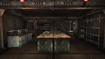 Mess hall & munitions storage room