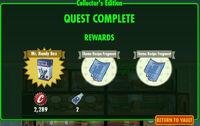 FoS Collector's Edition rewards