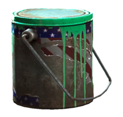 Fallout4 Green paint