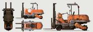 FO4 Forklift Art