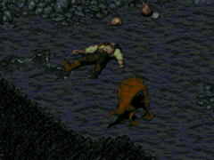 FO01 NPC Dying mutant
