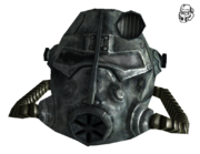 T45d power armor helmet