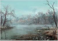 Fo4 Misty Lake Near Sanctuary Art