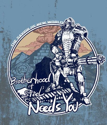 File:Brotherhood of steel needs you by breathing2004-d3btugr.jpg