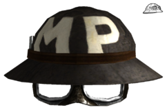 MP trooper helmet