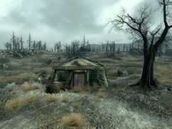 FO3 abandoned tent