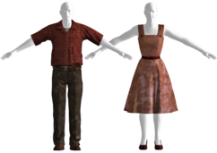 Pre-war spring outfit