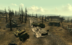 FO3 SC military checkpoint