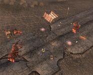 Fallout New Vegas Cassidy Caravans Wheckage Corpse