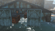 FO4 East Boston police station garage