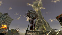 Fallout New Vegas Lucky 38 Sign 2