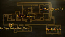 Tops 13th floor loc map