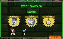 FoS Too Good to be True rewards