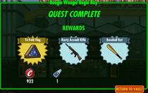 FoS Boogie Woogie Bugle Boy rewards