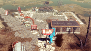 FO4NW Hubologist's camp