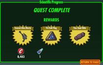 FoS Scientific Progress rewards