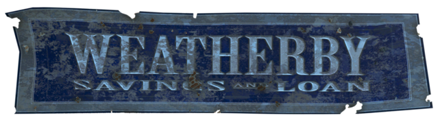 File:FO4 Weatherby Saving & Loan Logo.png
