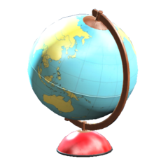 Clean globe