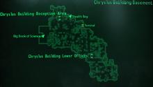 Chryslus Building basement map