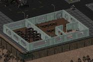 Navarro diner and dormitory