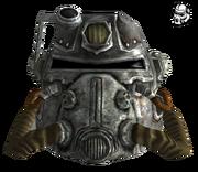 FNV T51b power armor helmet