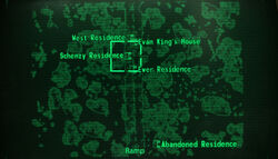 Schenzy residence loc map