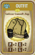 FoS Confessor Cromwell's Rags Card