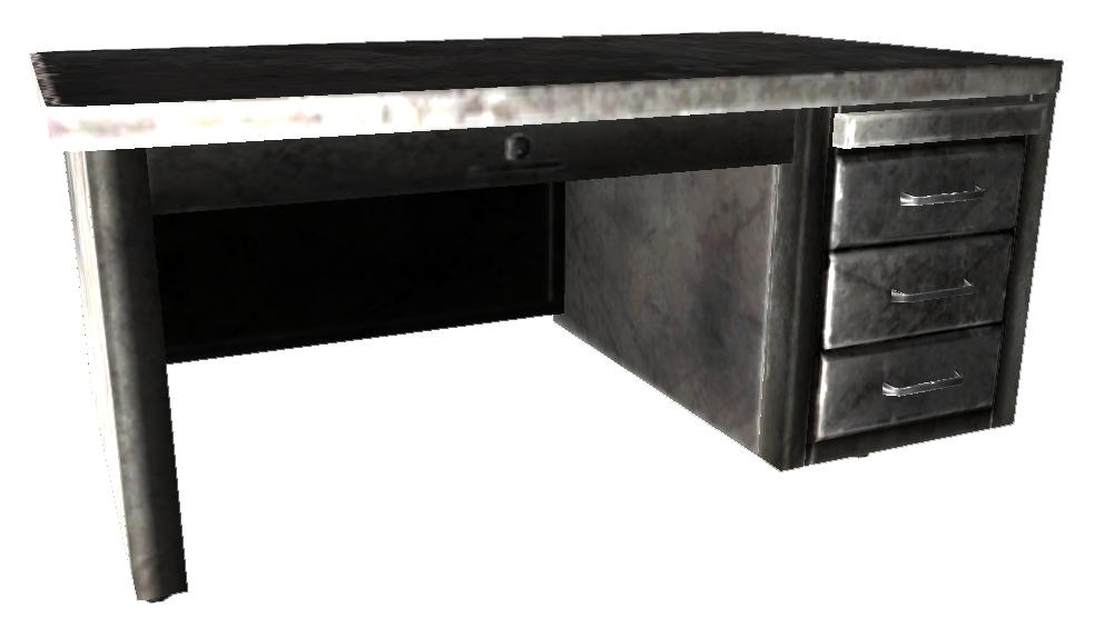 metal office desks. metal desks for office image desk fallout wiki fandom poweredwikia b